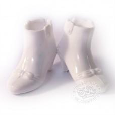 Ботиночки белые на каблучке