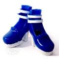 Туфли на платформе синие