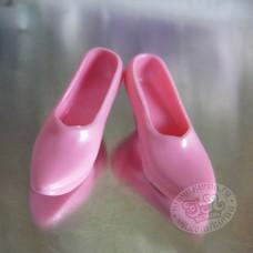 Туфли классика розовые