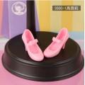 Розовые туфельки на каблучке