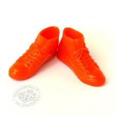 Высокие кроссовки (кеды) красные