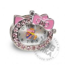 Флешка часы Hello-kitty розовые